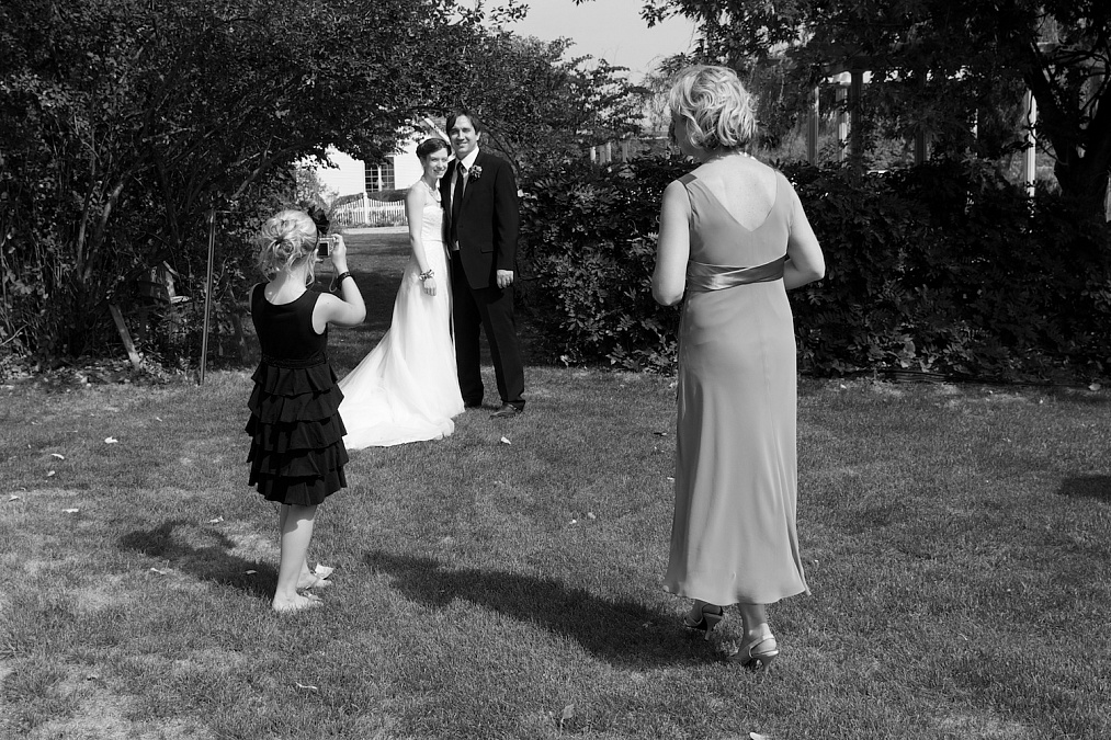 Candid, spontanous moments during the wedding day.